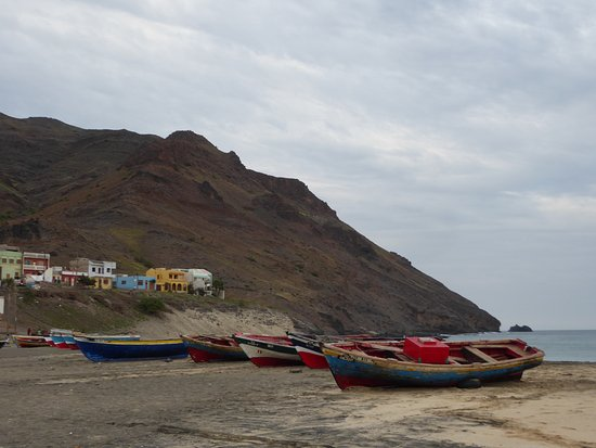 fishing boats at Sao Pedro
