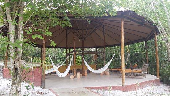 Amazon Ecopark Jungle Lodge: Redário, um descanso total!