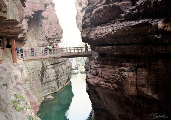 Xiuwu County, จีน: Laotan Valley.