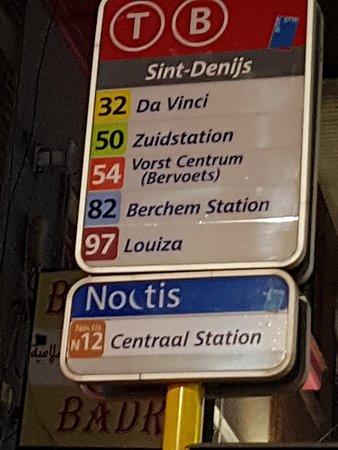 Vorst, Belgien: Fermata tram/bus