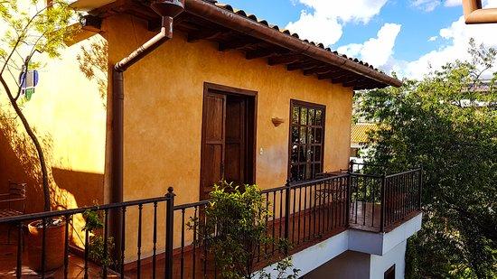 Hotel Casa del Aguila: Zimmer im hinteren Anbau