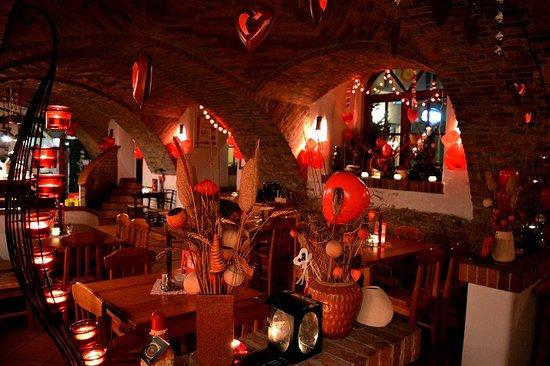 Valentine week decoration - Bild von Pizzeria Potac, Gornja Radgona ...