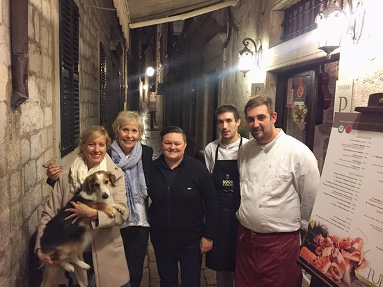 Konoba Pupo: with friendly staff
