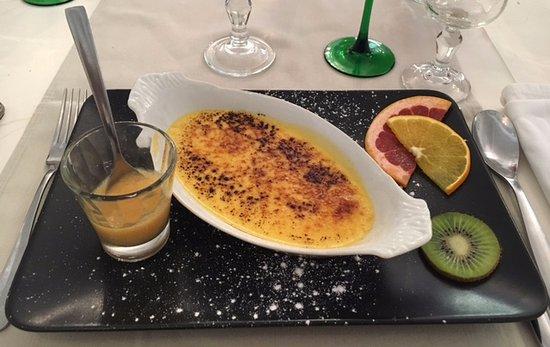 Hagetmau, Francia: Dessert: Crême brûlée