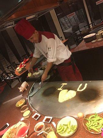 First Teppanyaki experience!!