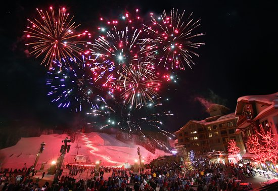Copper Mountain: New Year's Eve Fireworks on the mountain