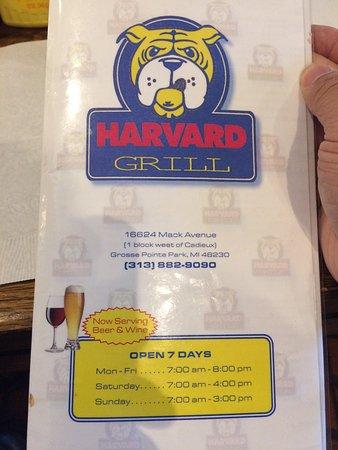 Harvard Grill