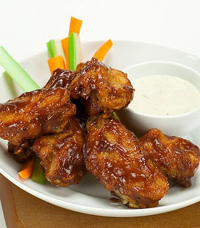 Hacienda Heights, CA: Half Dozen Wings