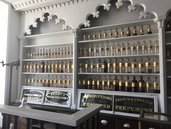 Stabler-Leadbeater Apothecary Museum: Stabler-Leadbeater Apothecary 2016