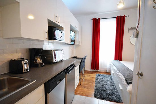 Likeahotel updated 2018 prices apartment reviews for Appart hotel montreal