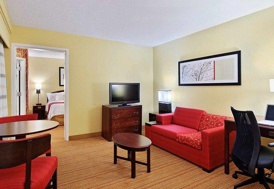 Atenas, GA: King Suite Living Area