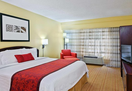 Atenas, GA: King Suite Sleeping Area