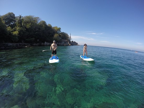 Stand Up Paddleboard and Snorkel the beautiful Mismaloya Bay with Paddle Zone