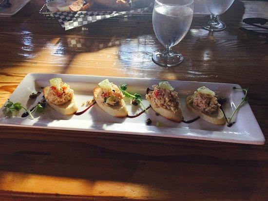 Joe's Seafood: Crab appetizer