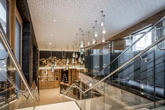 Sporthotel Silvretta: Spa Rezeption