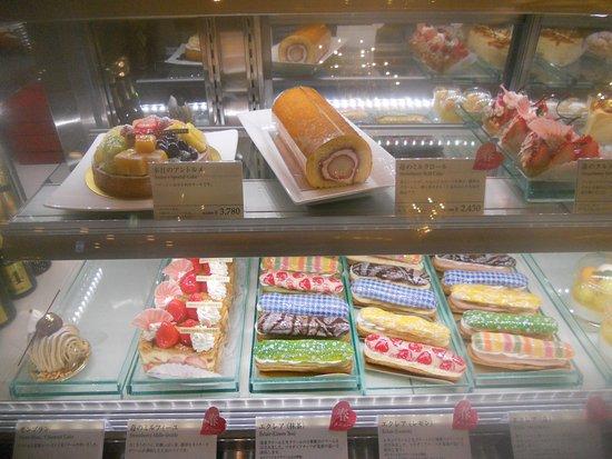 pastry display at gargantua