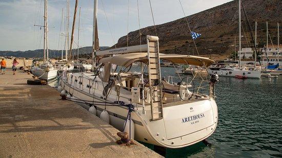 Greek Isles Yachting: Arethousa (Bavaria 45) at Monemvasia 2016)
