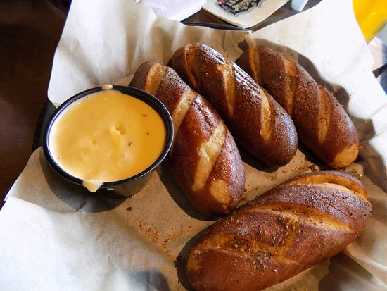 Waterfront Brewery Pretzel Sticks With Beer Cheese Dip