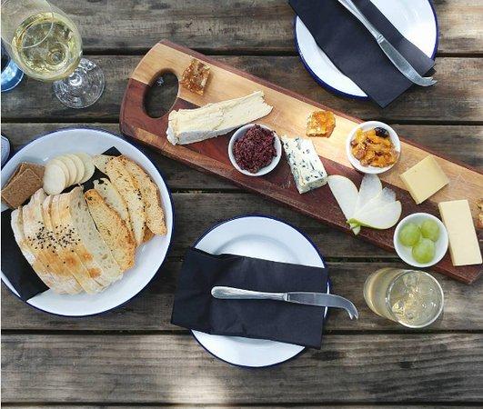 Wyspa Waiheke, Nowa Zelandia: Cheese platter.