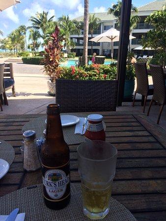 Sands at Grace Bay: Cerveja local, produzida com água dessalinizada.