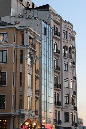 Ottoman Palace Taksim Square Hotel: dall'esterno