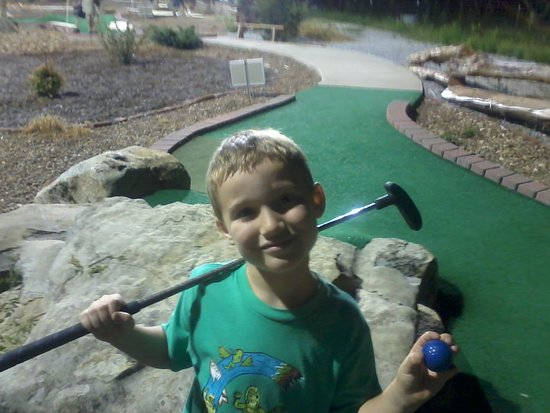 Christian Way Farm & Mini Golf: Kannen and I had a great time!