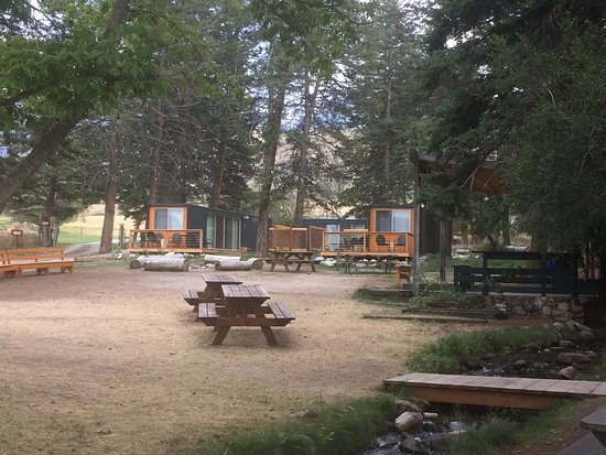 Livingston, MT: picnic area