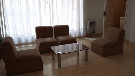 Área de descanso en cada piso - Bild von Grand Hotel Rio Cuarto, Rio ...
