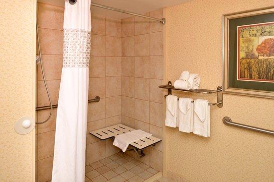Staunton, VA: Accessible Roll-In Shower