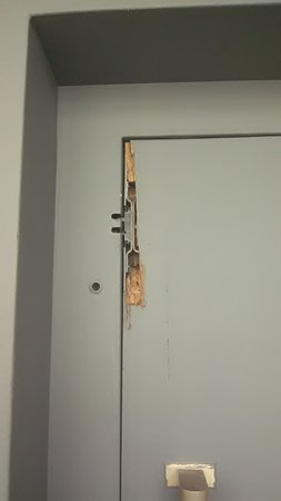 This is the door to lift/elevator which works - Picture of