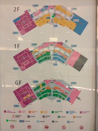 Johor Bahru District, Malaysia: Mall layout