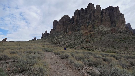 Lost Dutchman State Park: Superstition Mountain trail