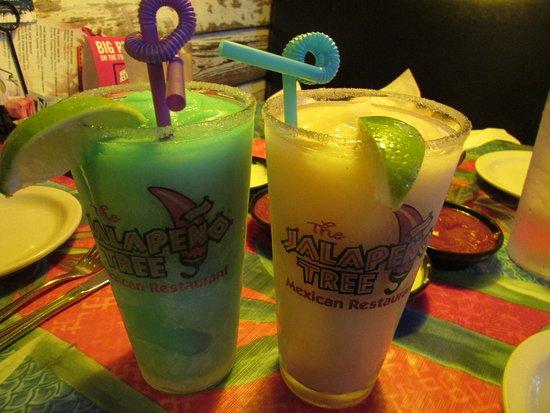 Athens, TX: Frozen Margaritas (Blue Raspberry & Mango)