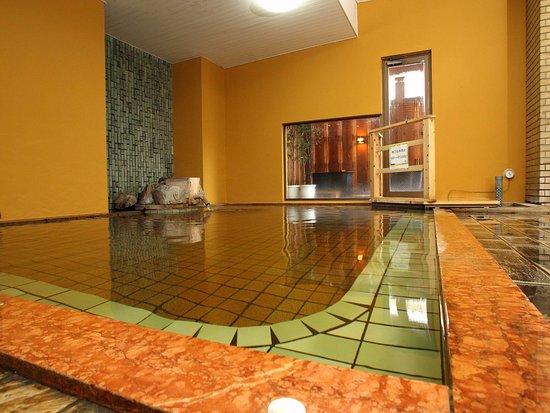Hotel 1-2-3 Kofu Shingen Onsen : 【温泉】本館内湯