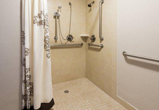 residence inn charlotte university research park ada guest bathroom rollin shower