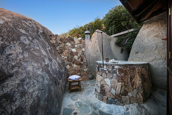 Spanish Town, Βέρτζιν Γκόρντα: Outdoor Shower