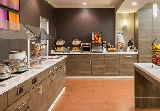 Residence Inn Chattanooga Downtown: Breakfast Buffet
