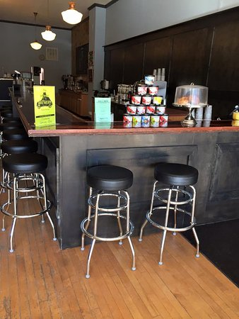 Wayland, MI: New Brew Dispensing Area