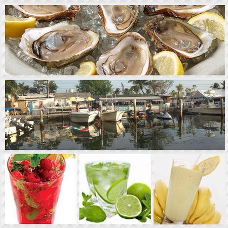 Porky's Bayside - Restaurant and Marina : Waterfront Old Keys Style Dining; Serving Fresh Oysters on the Half Shell