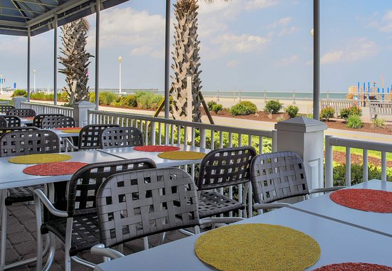 station 10 bar grill oceanfront patio picture of springhill