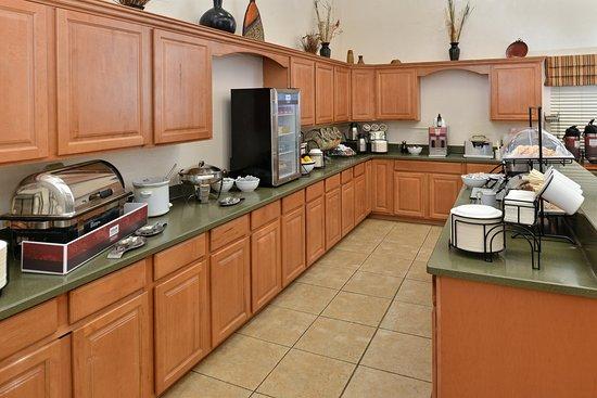 Butte, Монтана: Breakfast Area