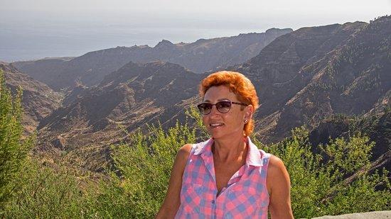 жена и долина  Benchijigua