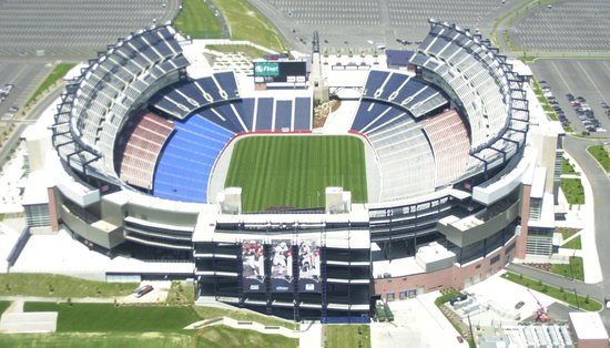 Mansfield, MA: Gillette Stadium Home of the NE Patriots and Revolution