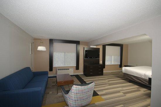 Hillsville, VA: ADA King Suite with Queen Size Sofa Sleeper