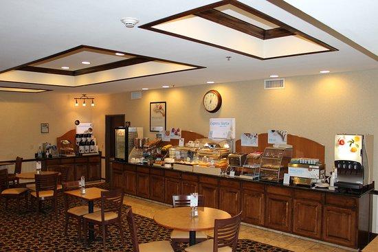 Center, تكساس: Breakfast Area