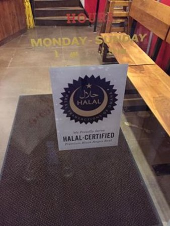 Epic Burger: Their info on halal beef source