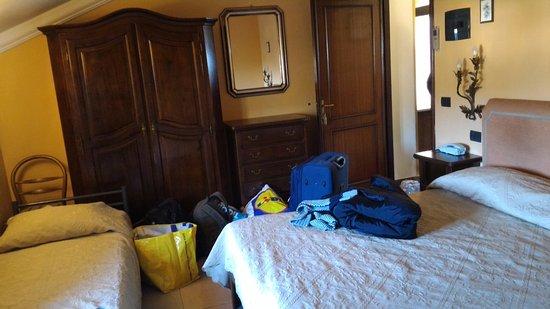 Hotel Savona: Camera tripla.