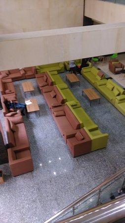 Yanji, China: Зона отдыха внутри корпуса