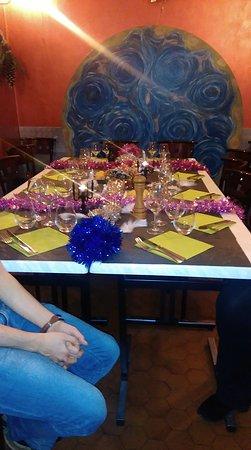 L'Assiette : Agréable soirée table d'hôte