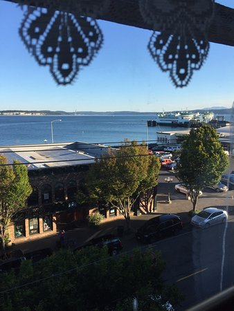 ‪‪Palace Hotel Port Townsend‬: View out the window from our room‬
